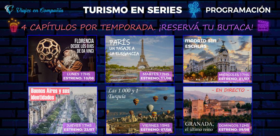 turismo en series